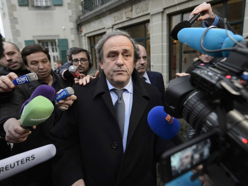 Michel Platini Officially Appeals Eight-Year Ban
