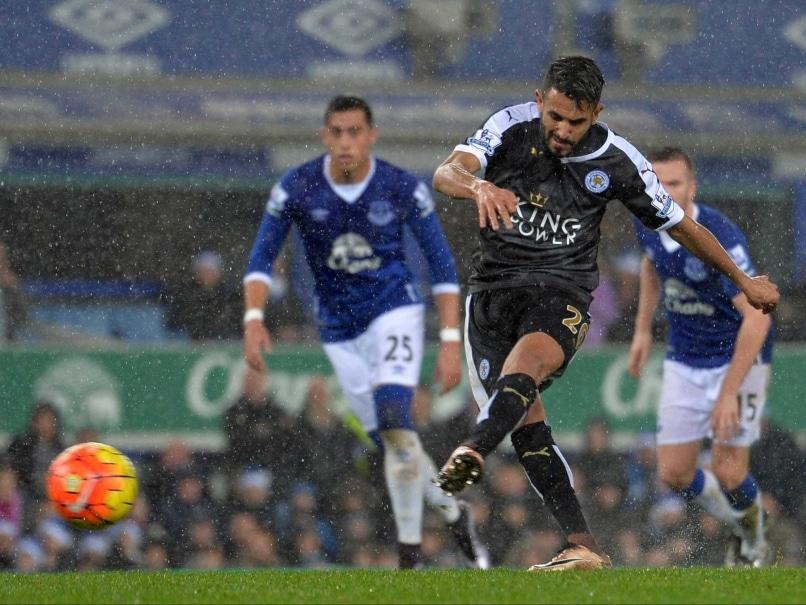 Leicester City Winger Riyad Mahrez