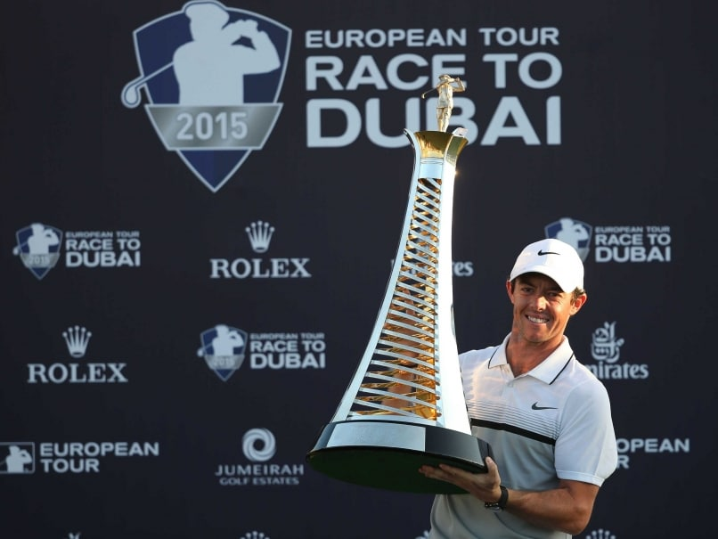 Rory McIlroy Wins European Tour Player Award for third Time