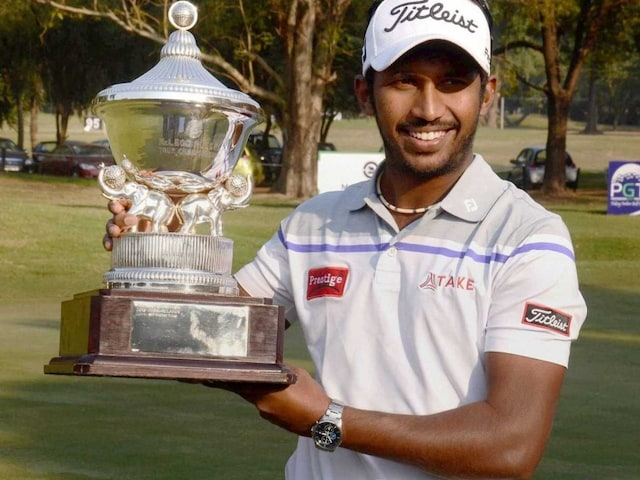 S Chikkarangappa Wins McLeod Russel Tour Golf Championship