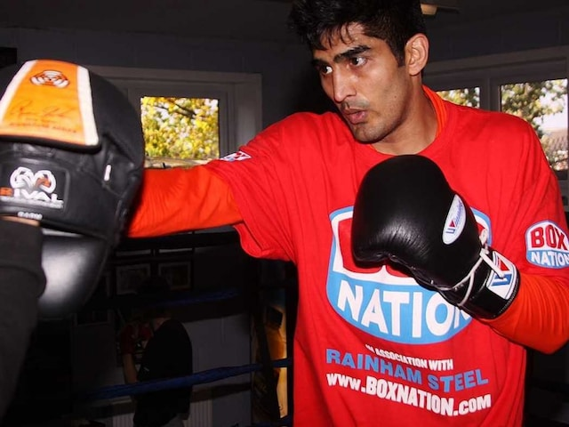 Vijender Singh Expects A Tough Challenge From Matiouze Royer