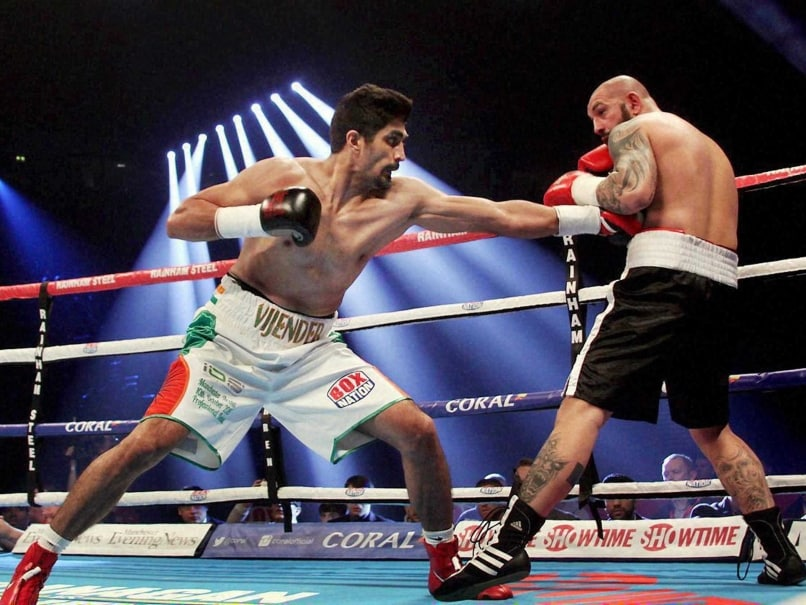 Vijender Singh Hopes to Continue Winning Run in His Fourth Professional Bout