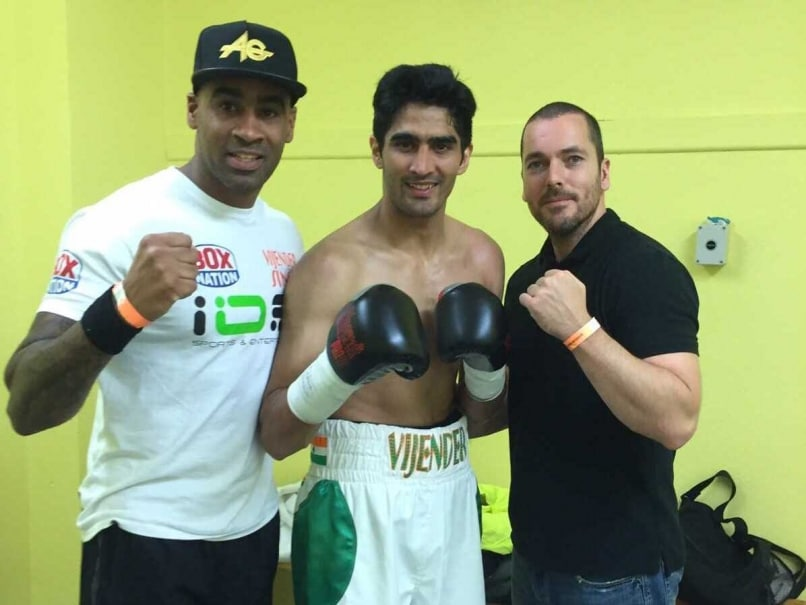 Vijender Singh Eyes Another Knockout Show Against Samet Hyuseinov