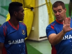 Heath Streak to Coach Bangladesh A During Their Tour of India