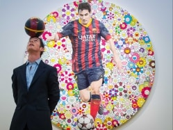 Lionel Messi's Portrait Raises USD 556,000 in Art Auction