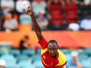 World Cup 2015: Tendai Chatara Reprimanded for Two Beamers at Chris Gayle