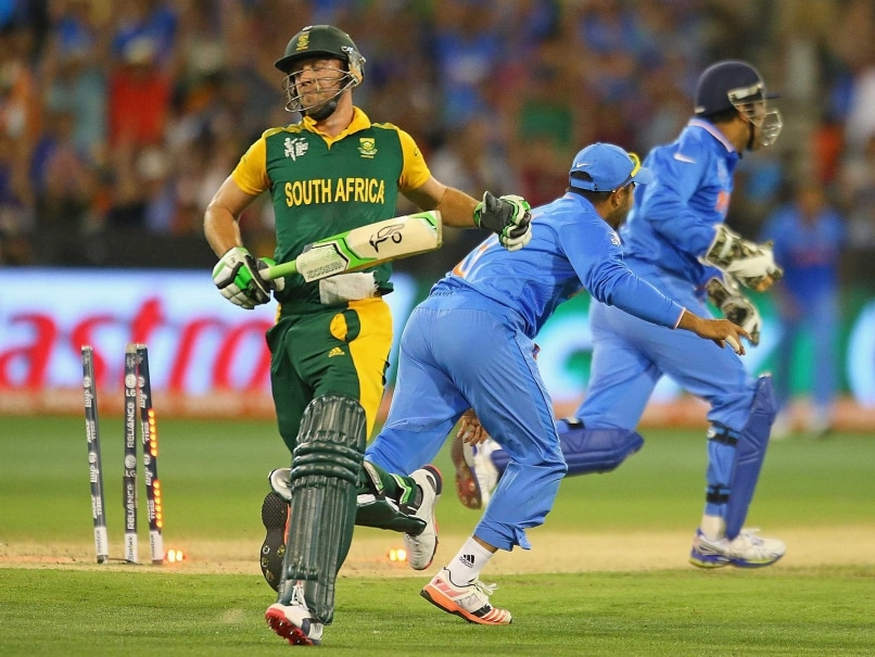 World Cup 2015: AB de Villiers Slams South Africa's 'Unacceptable' Display vs ...