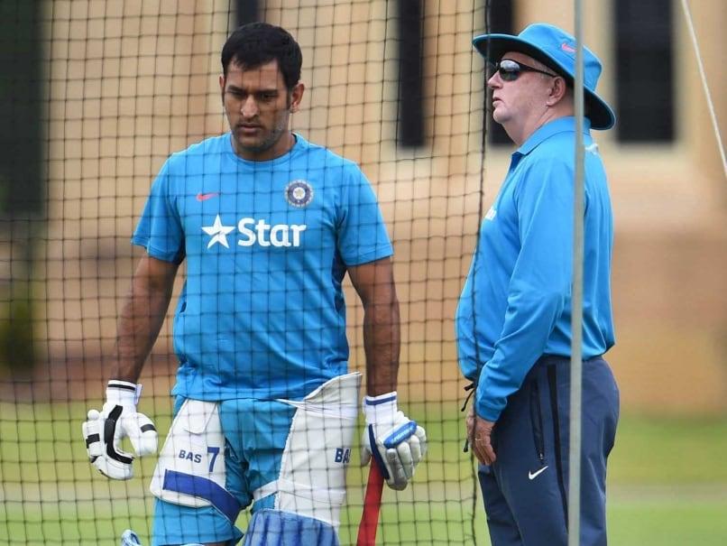 Dhoni Fletcher India practice