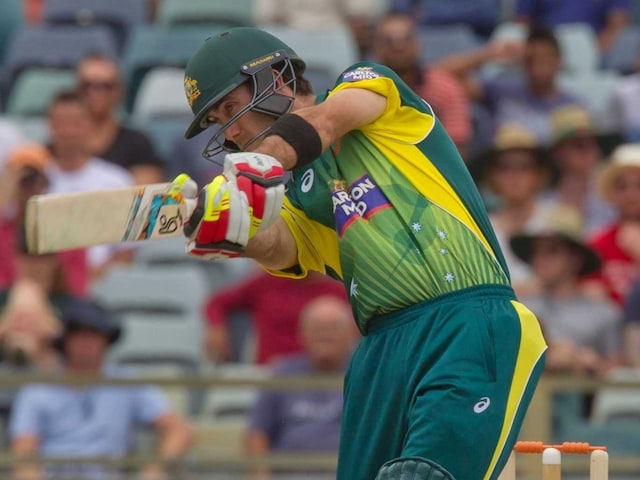 Glenn Maxwell Powers Australia to Tri-Series Win
