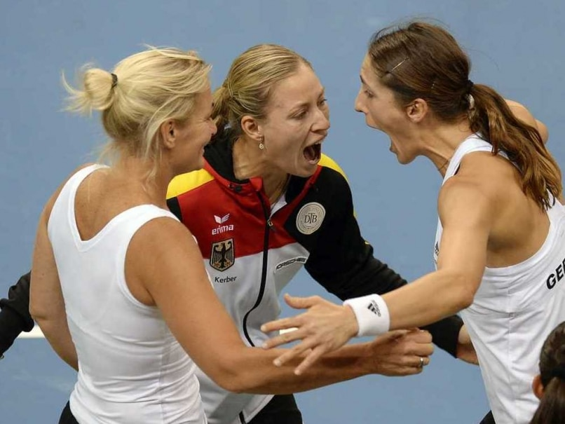Andrea Petkovic Fires Germany into Fed Cup Semis