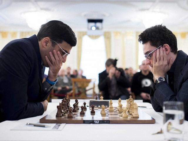 Zurich Chess: Viswanathan Anand Draws With Fabiano Caruana