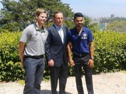 Team India Attends Afternoon Tea Session with Australian Prime Minister