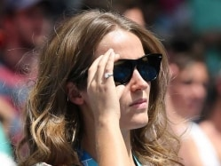 Australian Open: Andy Murray's Fiancee Flaunts Diamond Ring