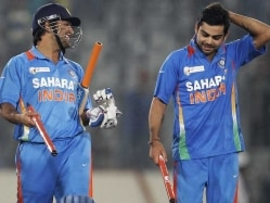 Mahendra Singh Dhoni Takes a Jibe at Virat Kohli, Says Aggression Different From Misbehaviour