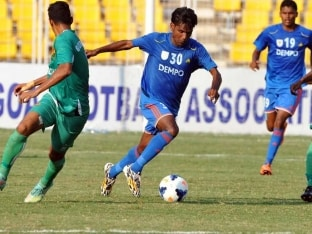 I-League: Dempo Thrash Sporting Clube de Goa 3-0