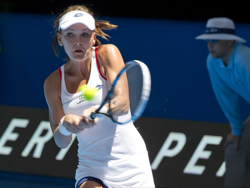 Agnieszka Radwanska Stars as Poland Down Great Britain at Hopman Cup