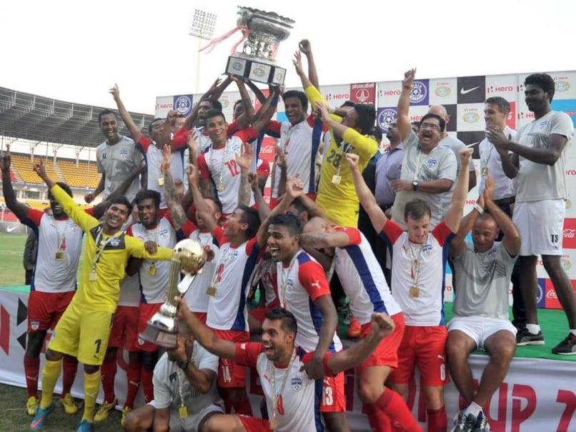 Sunil Chhetri Guides Bengaluru FC to Maiden Federation Cup Title