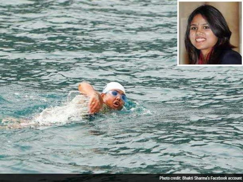 Open Water Swimmer Bhakti Sharma Sets World Record in Antarctic Ocean