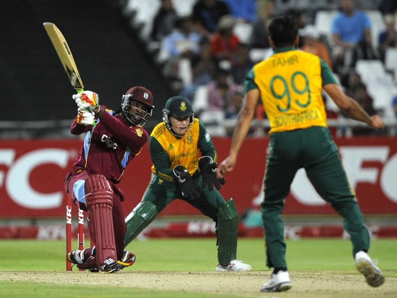 Chris Gayle Anchors West Indies in Record T20 Chase vs South Africa