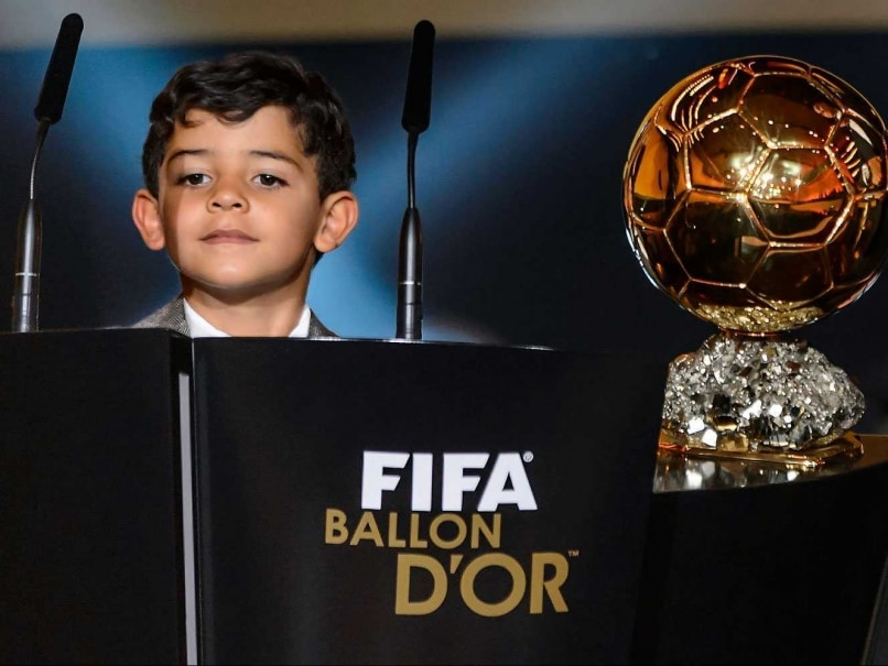 Cristiano Ronaldo's Son is a Lionel Messi Fan