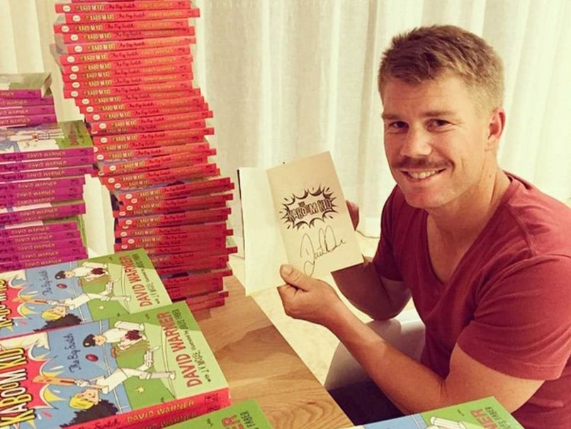 David Warner Turns Writer, Pens Series for Children