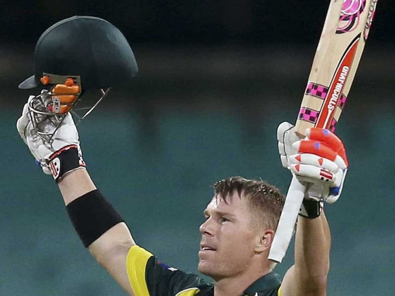 Tri-series, 1st ODI Highlights: David Warner Century Guides Australia to 3-Wicket Win vs England