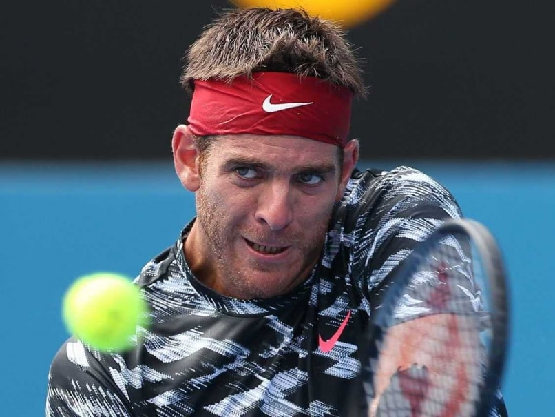 Juan Martin Del Potro Knocked Out of Sydney International