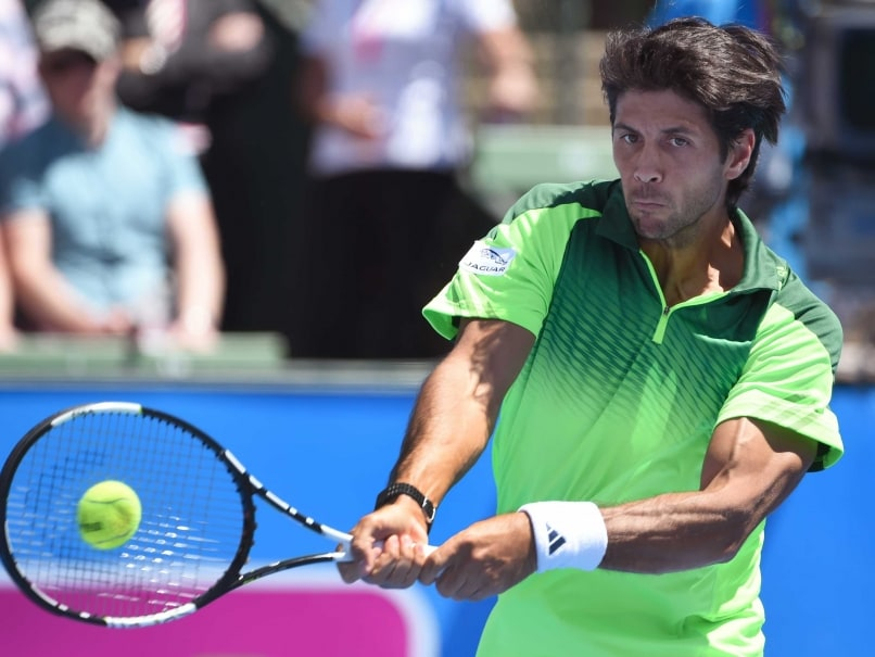 Fernando Verdasco Wins Kooyong Title Over Injured Alexandr Dolgopolov