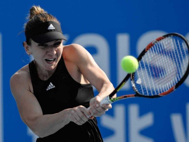 Simona Halep Beats Timea Bacsinszky for Shenzhen Open Title