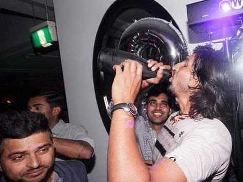 Indian Cricket Team's Night Out at Sydney Club Party