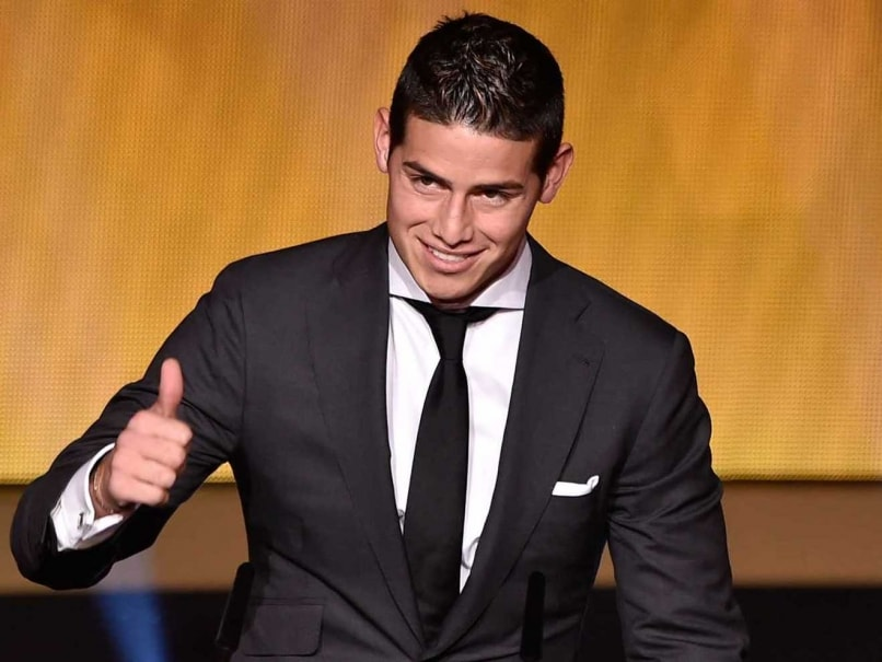 James Rodriguez Wins Goal-of-the-Year Award