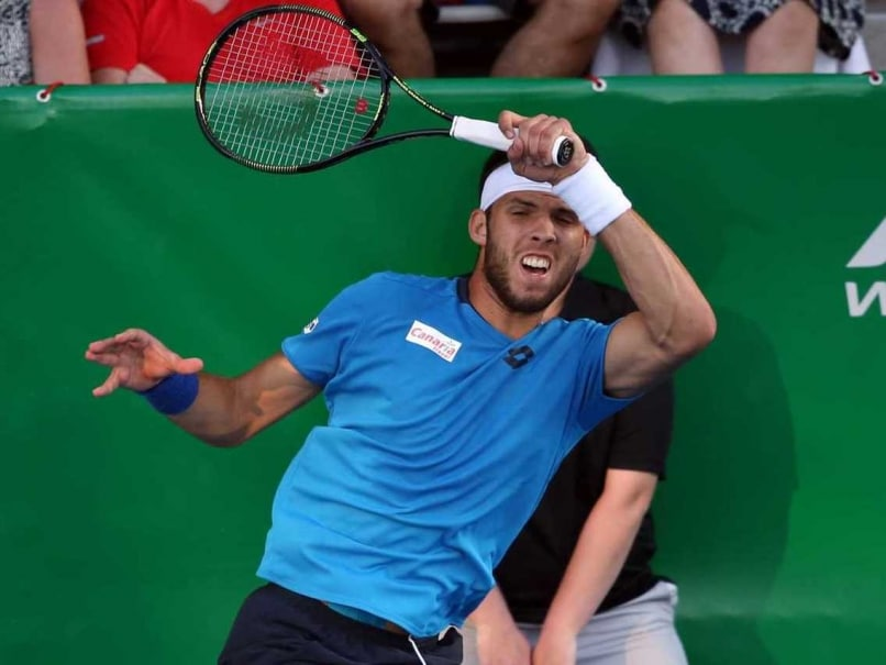 Czech Qualifier Jiri Vesely Wins Auckland Final