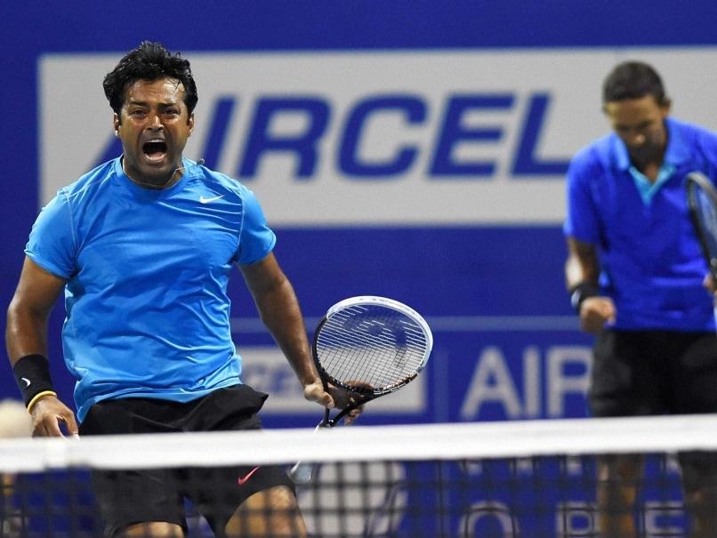Chennai Open: Leander Paes-Raven Klaasen Beat Mahesh Bhupathi-Saketh Myneni to Enter Semis