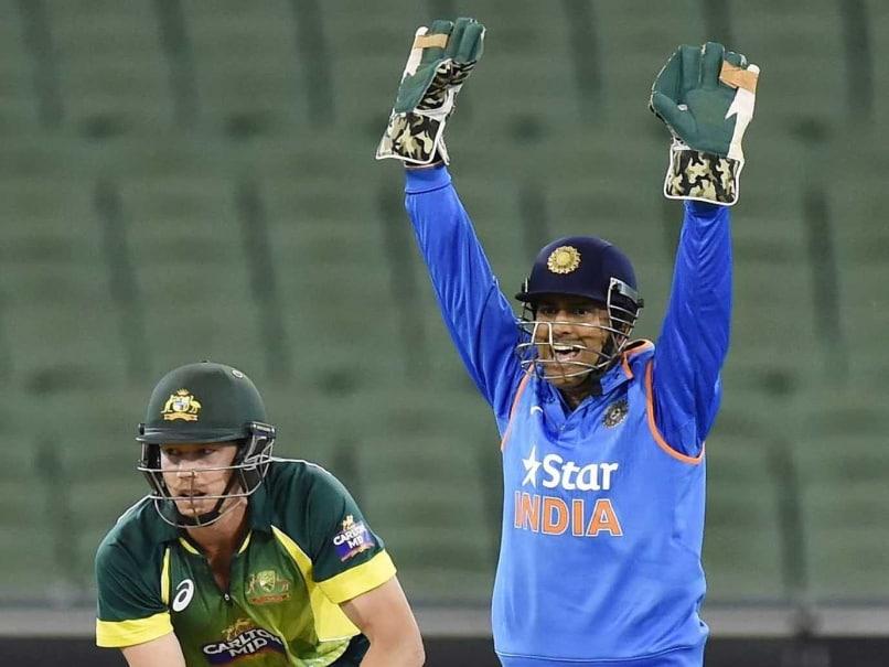 MS Dhoni Australia ODI 0