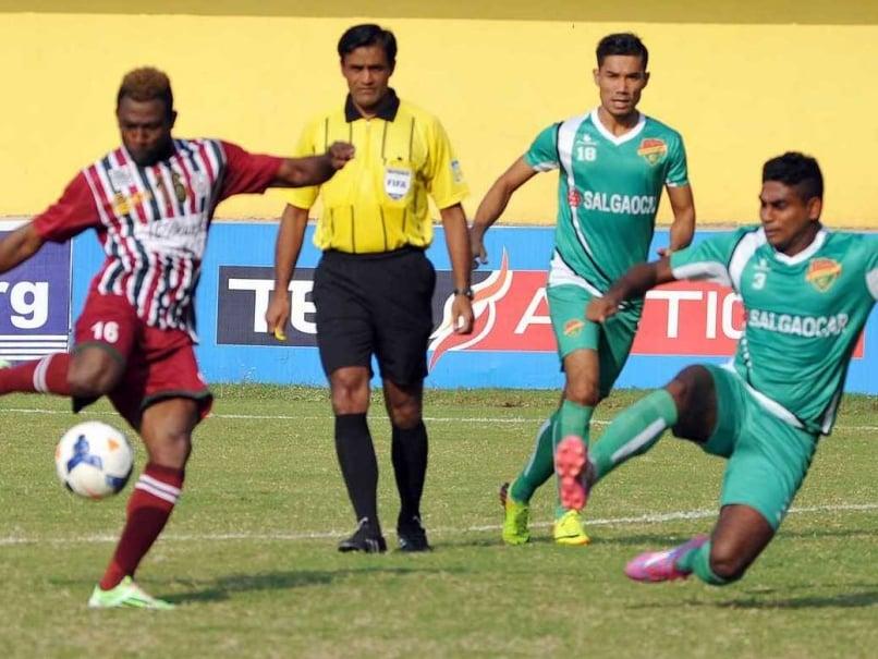 Salgaocar FC Rout Mohun Bagan 4-1 in Federation Cup