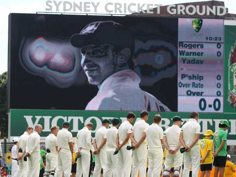 Michael Clarke Leads Emotional Tribute to Phillip Hughes at SCG
