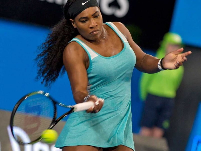 Serena Williams Storms to Victory After She Orders Coffee