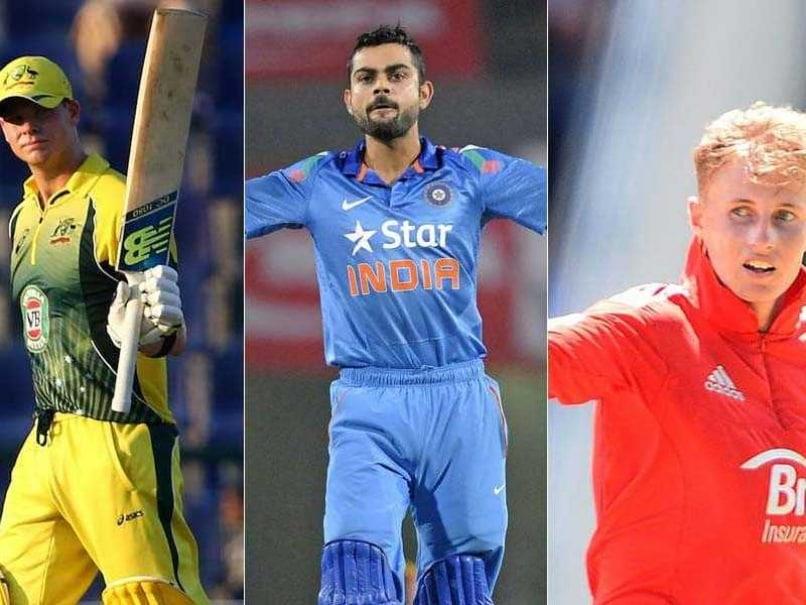 India-Australia-England Tri-series: It's Virat Kohli vs Steven Smith vs Joe Root