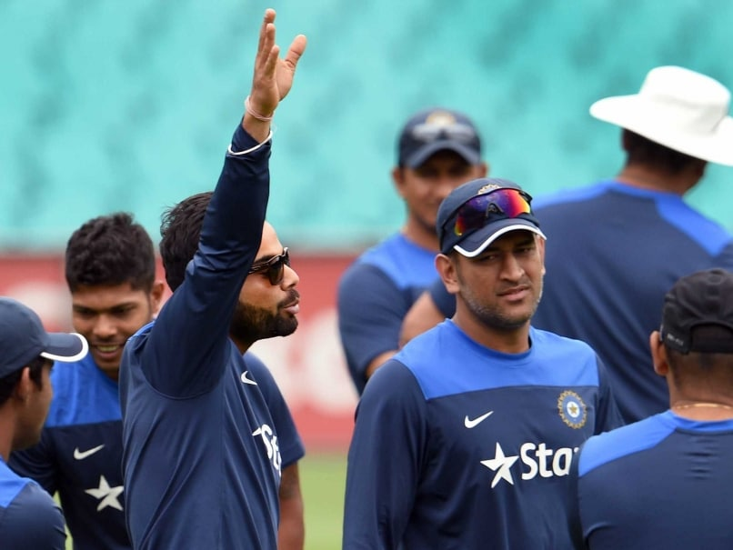 Virat Kohli Says MS Dhoni is Still Replacement Keeper