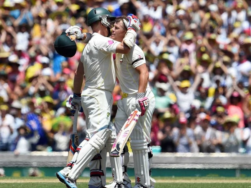 David Warner Feels Good Pitch and Poor Fielding Helped Australia