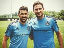 Major League Soccer: Frank Lampard Trains With New York City FC Teammates