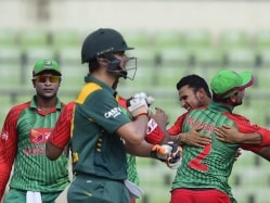South Africa's Rilee Rossouw Fined for Contact With Tamim Iqbal