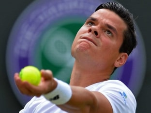 Milos Raonic Hits Third-Fastest Serve in Wimbledon History