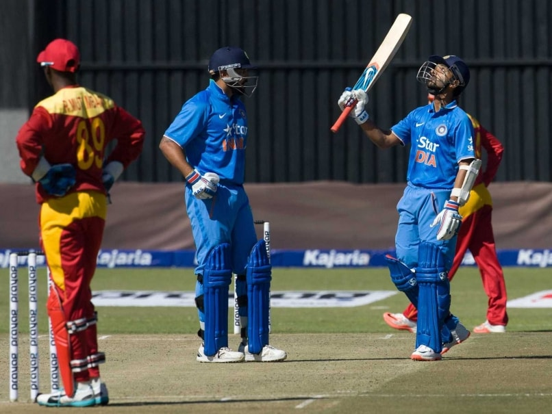 Live Cricket Score India vs Zimbabwe, 3rd ODI