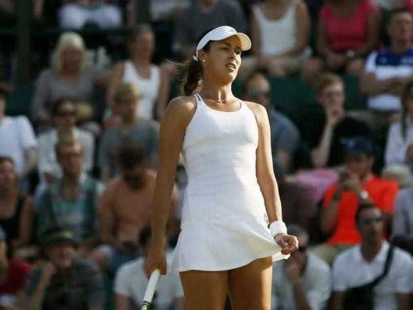 Ana Ivanovic Dumped Out of Wimbledon By American Qualifier Bethanie Mattek-Sands