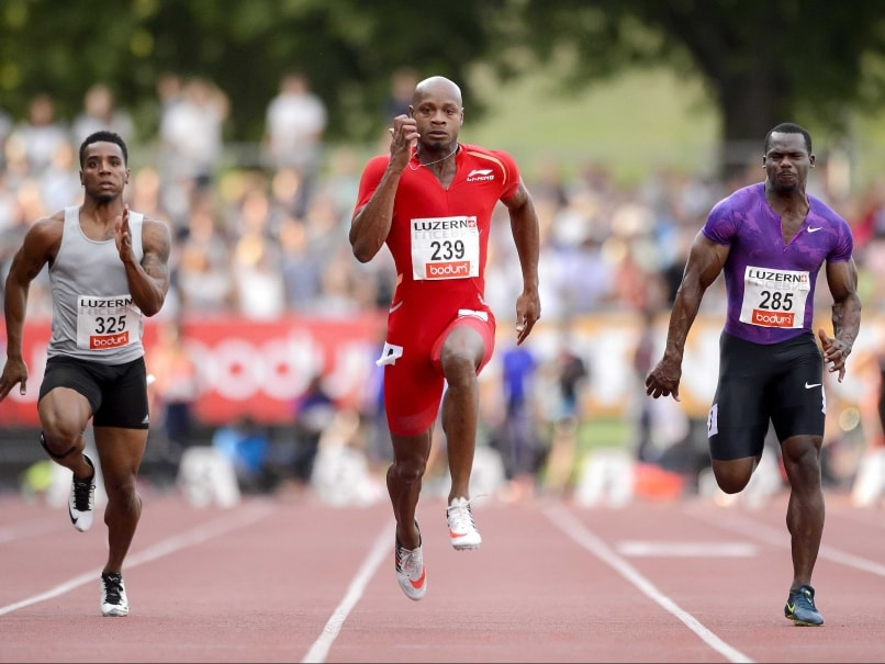 Asafa Powell Clocks 9.87 Seconds on 100m to Win Luzern Meet