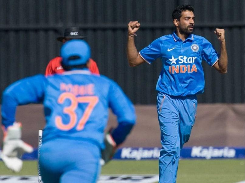 Dhawal Kulkarni India v Zimbabwe 2015