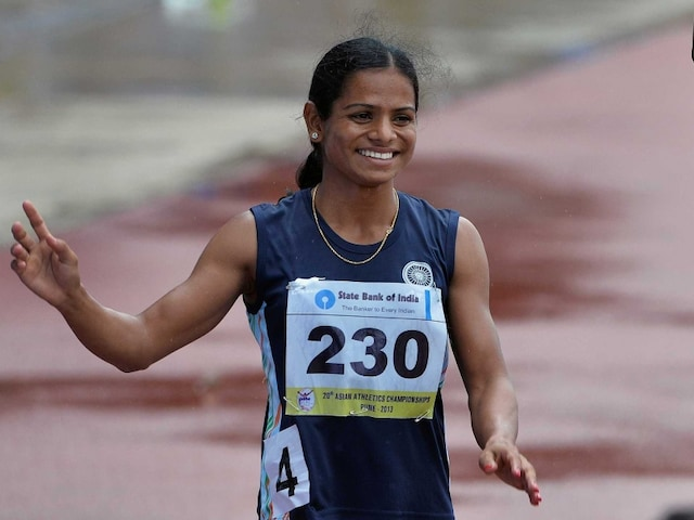 Dutee Chand Sets New National Record in Womens 60m Dash
