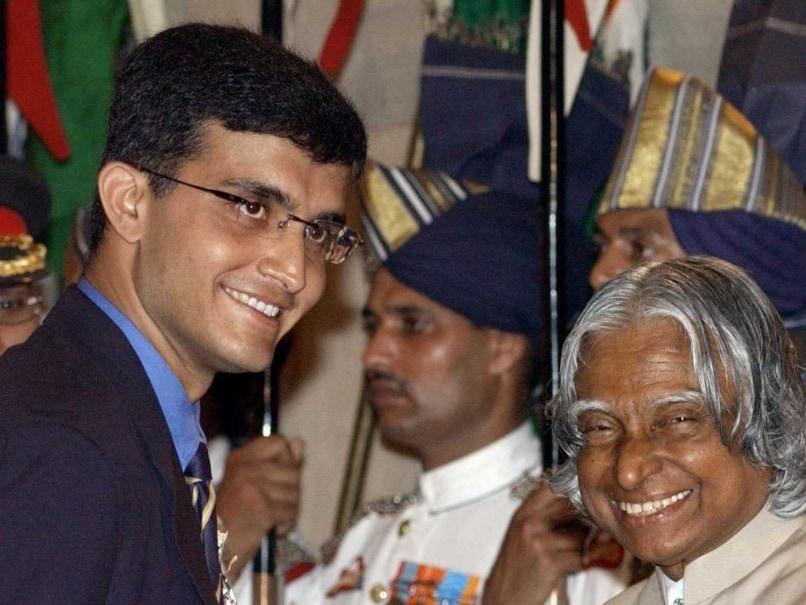 Sourav Ganguly Recalls Receiving Padma Shree From President A.P.J. Abdul Kalam