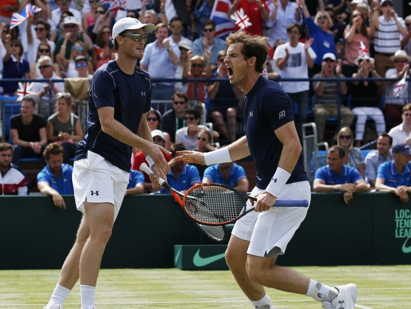 Andy Murray, Brother Jamie Lead British Davis Cup Charge in Glasgow